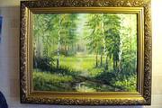 Продам картину лесная тропинка